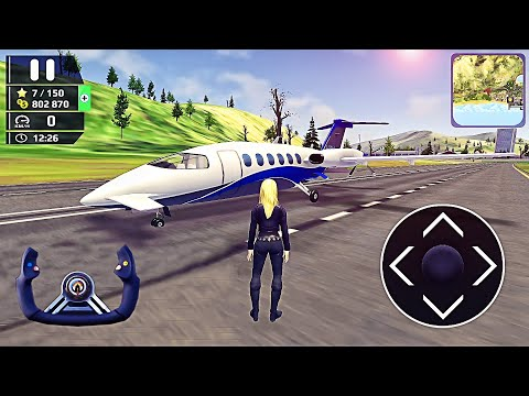 HFPS: Helicopter Flight Pilot Simulator 3D - Car in Airplane Flight Drive - Best Android GamePlay #7