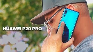 HUAWEI P20 PRO. DEIXA A CÂMERA DO IPHONE X, S9 E OUTROS TOPS PRA TRÁS? Review