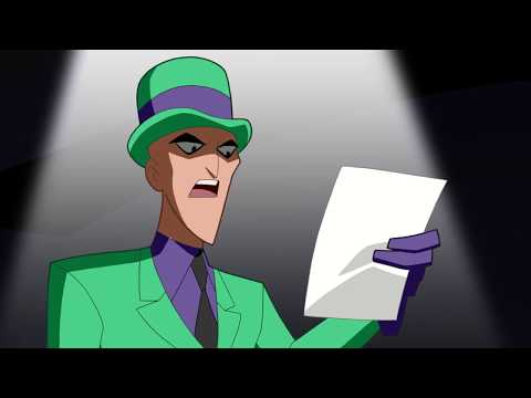Justice League Action - E. Nygma, Consulting Detective Clip #2 - 2017 Cartoon Network HD