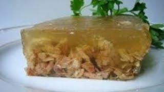 Домашний влог. Холодец из шеи индейки и витаминный компот