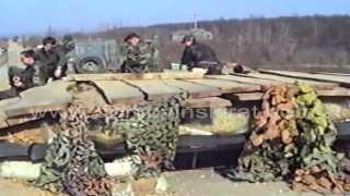 "1992.04.00. - 2. bataljun 1. A brigade ZNG ""Tigrovi"" - Položaji kod Broćica i nadvožnjaka"