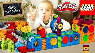 Retour de brocante 24 : Usine aux merveilles Mega Fun Factory Play-Doh Lego Ninjago Licorne Unboxing