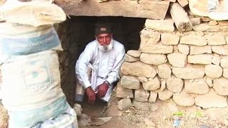 75 year old man who lives in a bunker at LoC