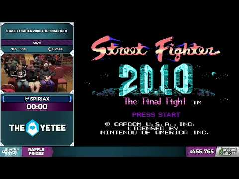 Street Fighter 2010: The Final Fight by spiriax in 19:01 - AGDQ 2017 - Part 73