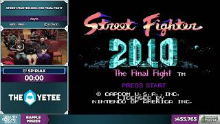 Street Fighter 2010: The Final Fight by spiriax in 19:01 - Awesome Games Done Quick 2017 - Part 74