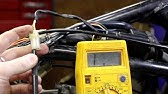 How to test ignition Pickup Coils on CDI Electronic Ignition ... J Yamaha Cdi Wiring Diagram on