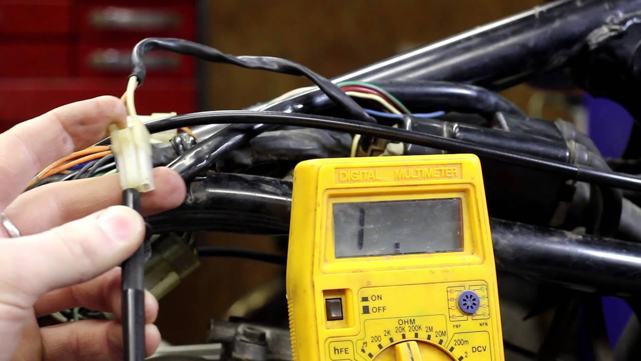 Testing Your Motorcycle Coil Youtube Gt Automotive Electrical Testers Continuity Tester 6v 12v