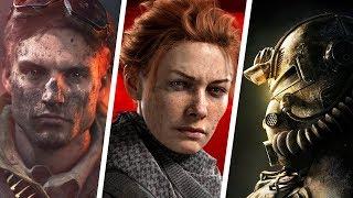 TOP 10 NOVOS JOGOS NOVEMBRO 2018 I PS4 XBOX ONE PC SWITCH