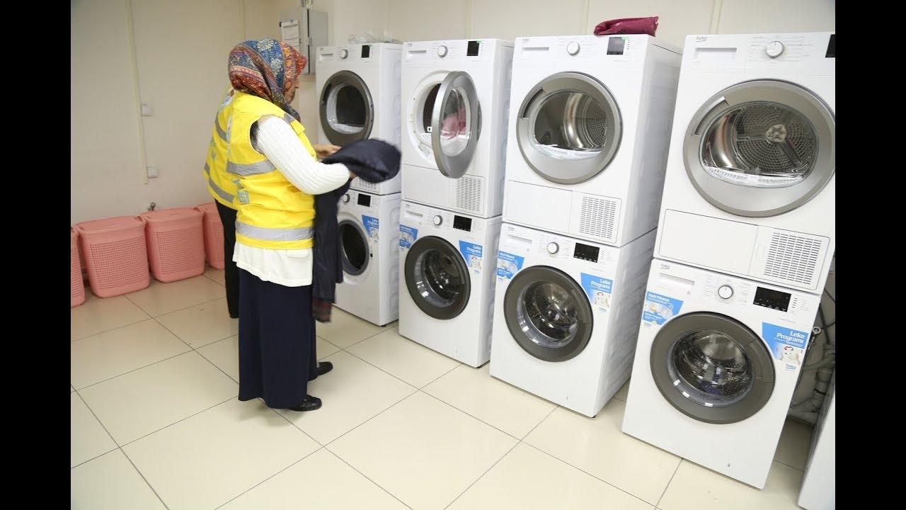 Haliliye'den Kentte Bir İlk: Ücretsiz Çamaşırhane