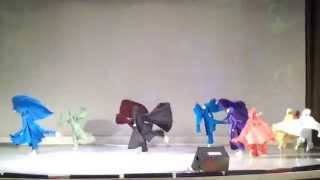 Театр танца Чудеса Лесосибирск - выступление в С.Петербурге (Краски)(, 2014-11-20T17:05:46.000Z)