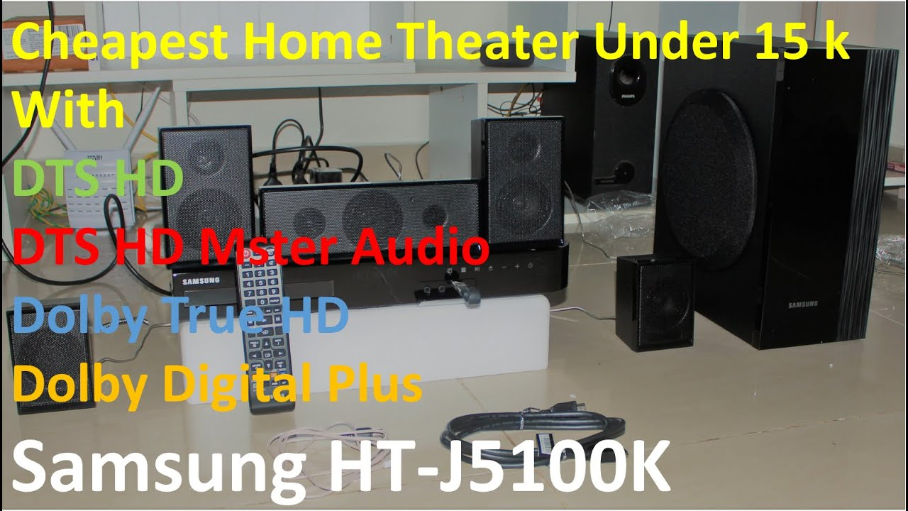 Samsung HT J5100K Unboxing and Audio test