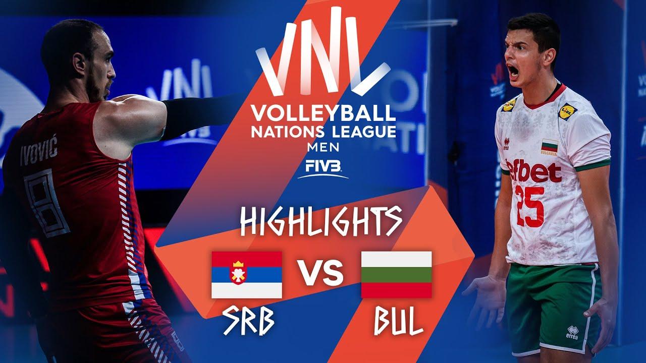 Download SRB vs. BUL - Highlights Week 4 | Men's VNL 2021