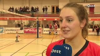 Regio Zwolle Volleybal bezorgt Eurosped eerste nederlaag, Apollo 8 wint van Set-Up'65