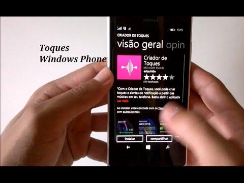 Como Por Toque Personalizado de Chamadas e Notificações no Windows Phone
