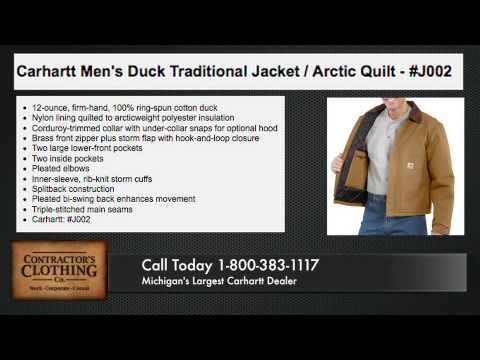 Carhartt Duck Traditional Jacket/Arctic Quilt - Metro Detroit