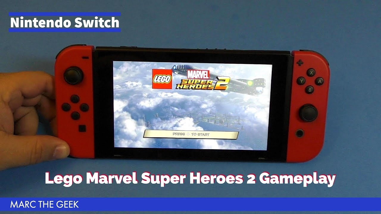 Nintendo Switch Lego Marvel Super Heroes 2 Gameplay Youtube