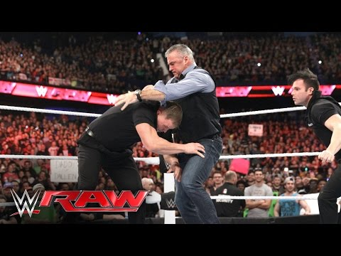 Shane McMahon falls victim to a diabolical deception: Raw, March 7, 2016