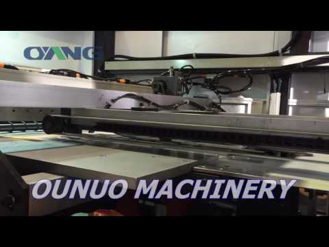 Leader Laminated Non Woven Box Bag Making Machine on 2016 South China Printing Exhibition