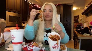 ARBY'S EATING SHOW!!! FAST FOOD MUKBANG