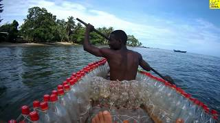 Cameroon's 1st made boat from