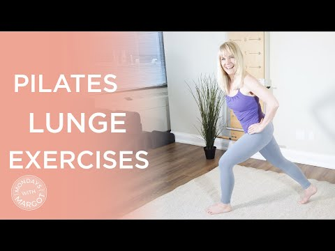 Pilates Lunge Exercises