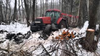Transport drewna & Praca w lesie cz.2 :)