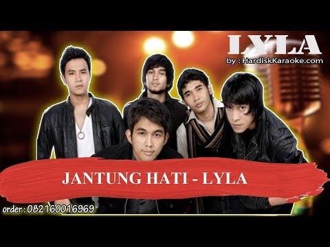Download lagu Mp3 JANTUNG HATI   LYLA Karaoke terbaik