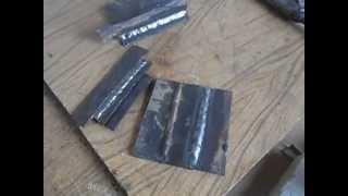 Как варить потолочный шов без отрыва начинающим сварщикам(Сварка потолочного шва без отрыва электродами УОНИ., 2015-09-20T09:20:14.000Z)