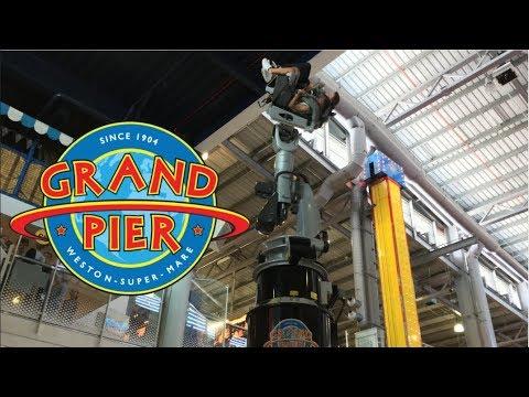 Weston-Super-Mare Grand Pier & Tropicana Funland Vlog July 2018