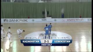Kazakhstan   Uzbekiston 1 Friendlich game 3 1 2016 01 22