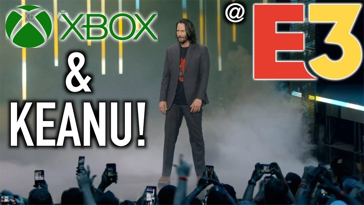 Keanu Reeves Reveals Cyberpunk 2077 Release Date At E3 2019