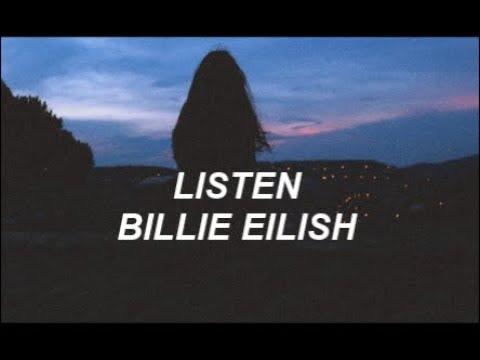 Listen || Billie Eilish (Español)