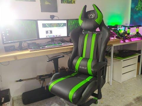 Mi silla Gaming Preferida / Diablo X one Horn Review