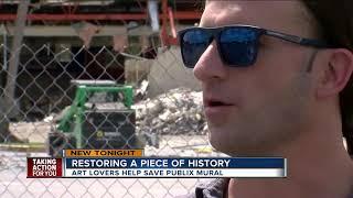 Lakeland art lovers save historic Publix mural