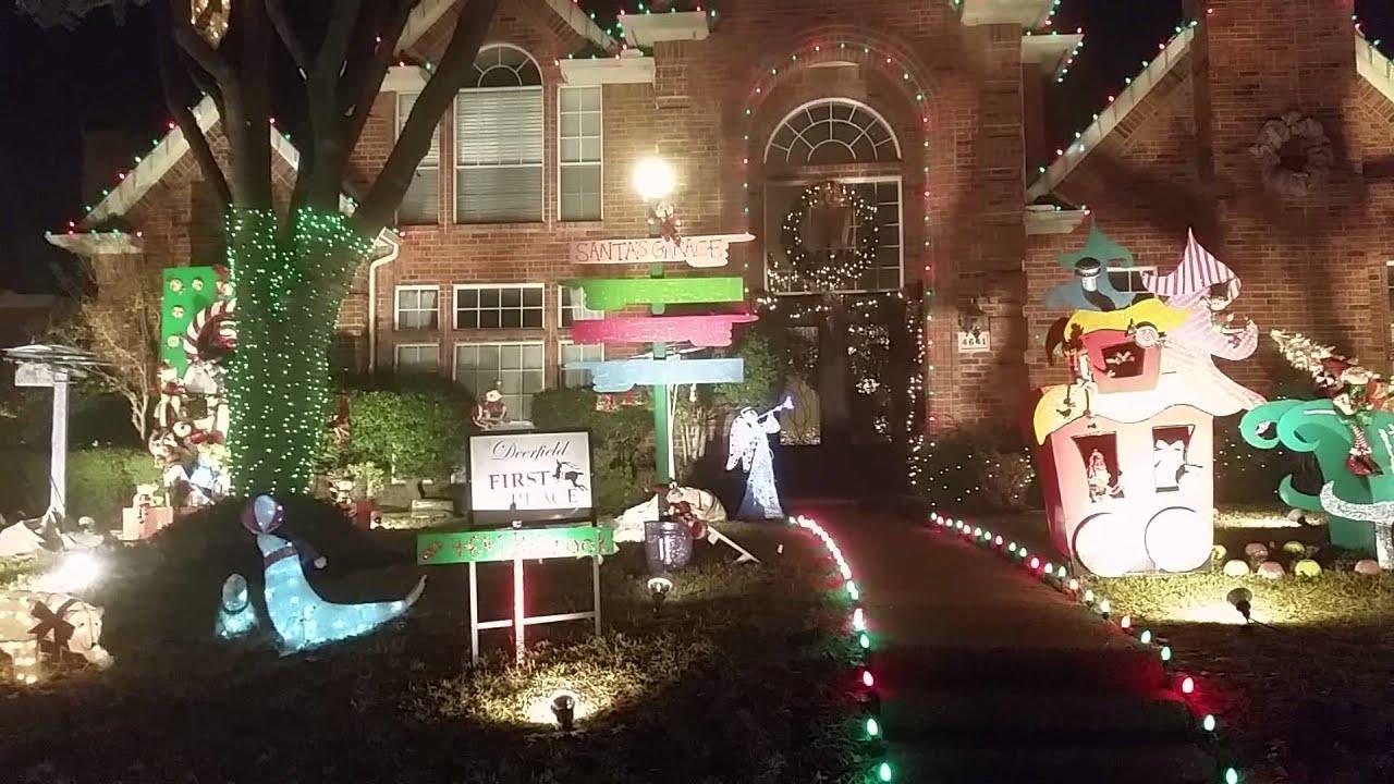 deerfield christmas lights in plano - Plano Christmas Lights