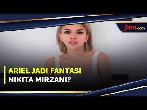 Nikita Mirzani Beber Alasan Menjadikan Ariel NOAH sebagai Fantasi