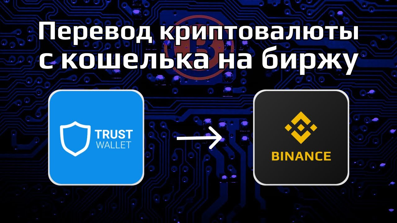 как перевести с криптокошелька на бинанс