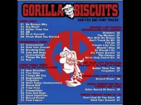 Gorilla Biscuits -  Rarities And Comp Tracks