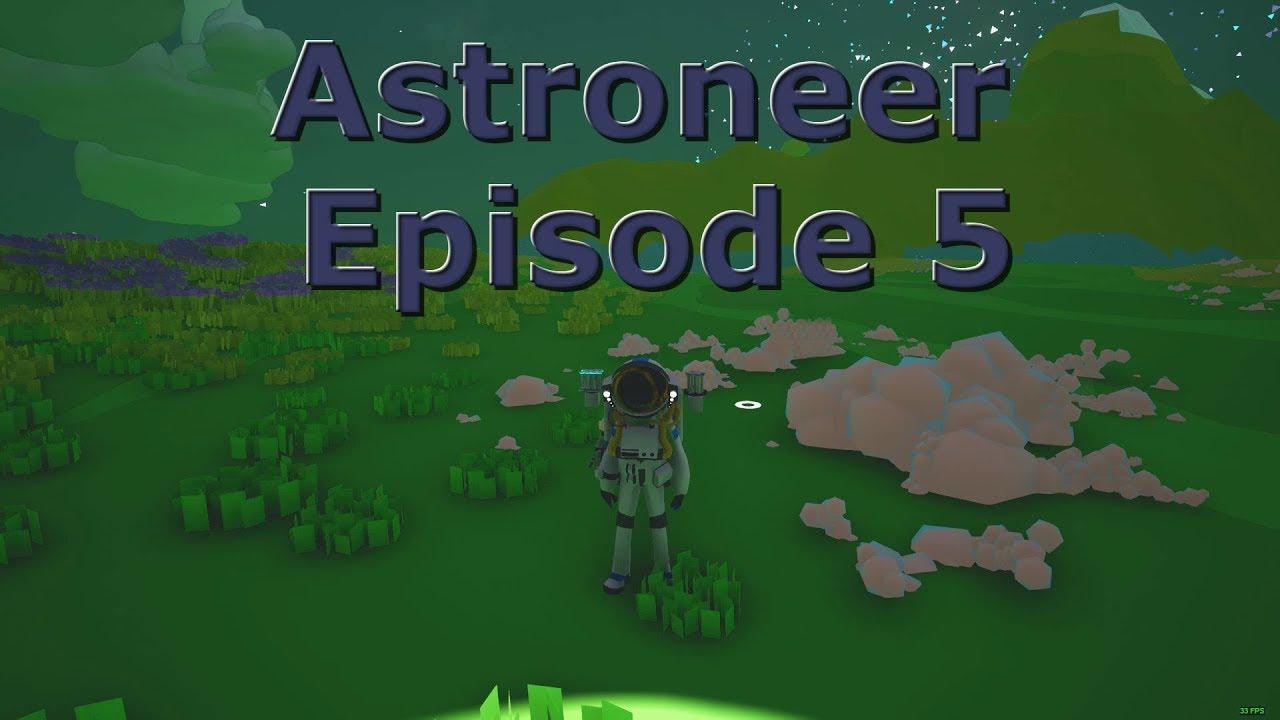 Astroneer Single Player Season 1 Episode 5 Smelting Solar