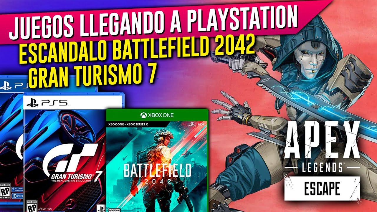 Download NUEVOS anuncios para PS4 y PS5 🔥 BATTLEFIELD 2042 🔥 Apex Legends Season 11 🔥 Gran Turismo 7