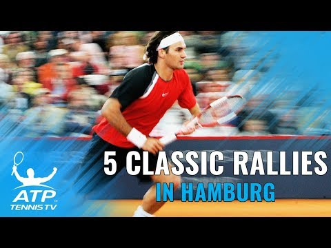 Federer, Edberg & more: 5 EPIC Hamburg points you've never seen