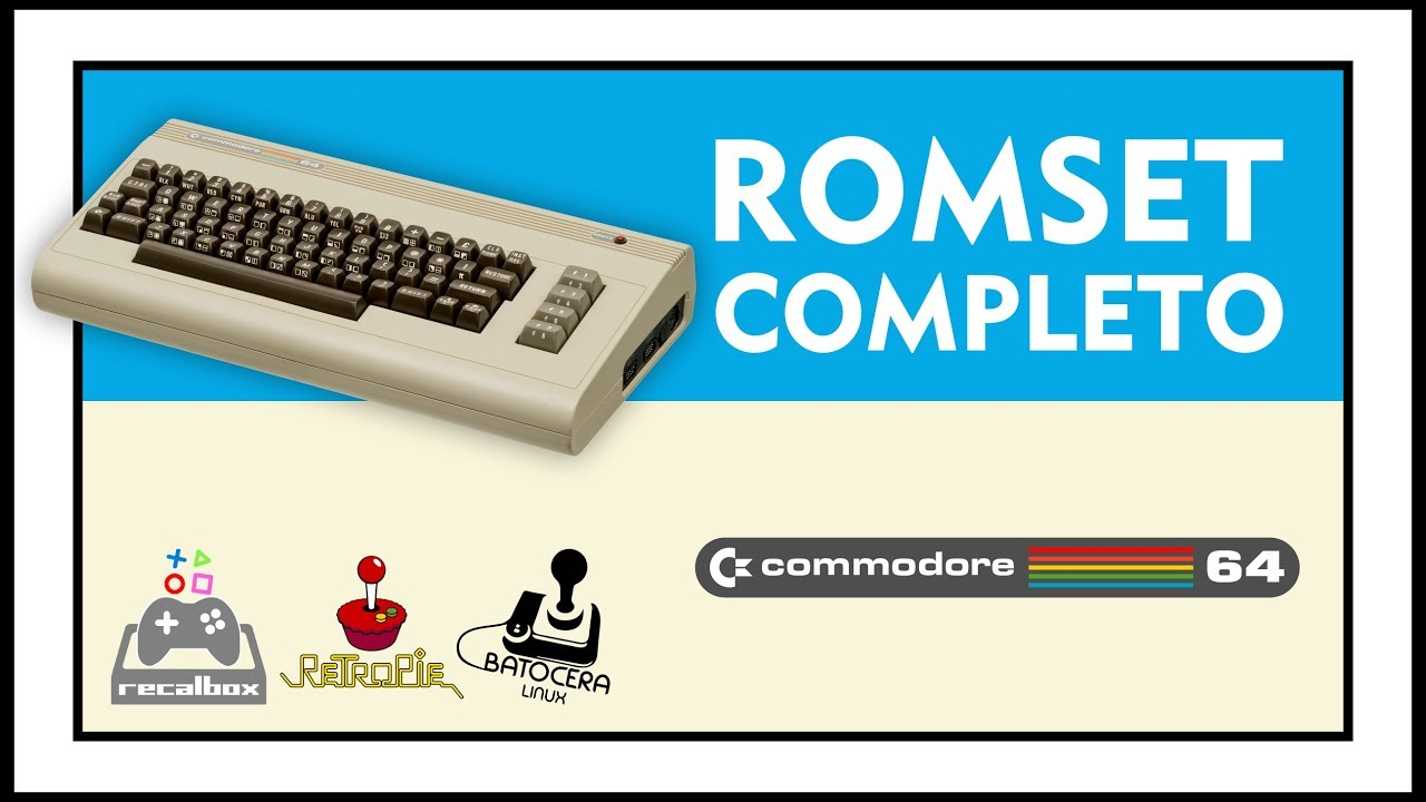 DOWNLOAD ROMSET COMPLETO DE COMMODORE 64