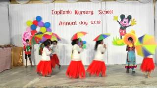 Mercy Like the Rain Dance, Capitanio Nursery School, Annual Day 2016