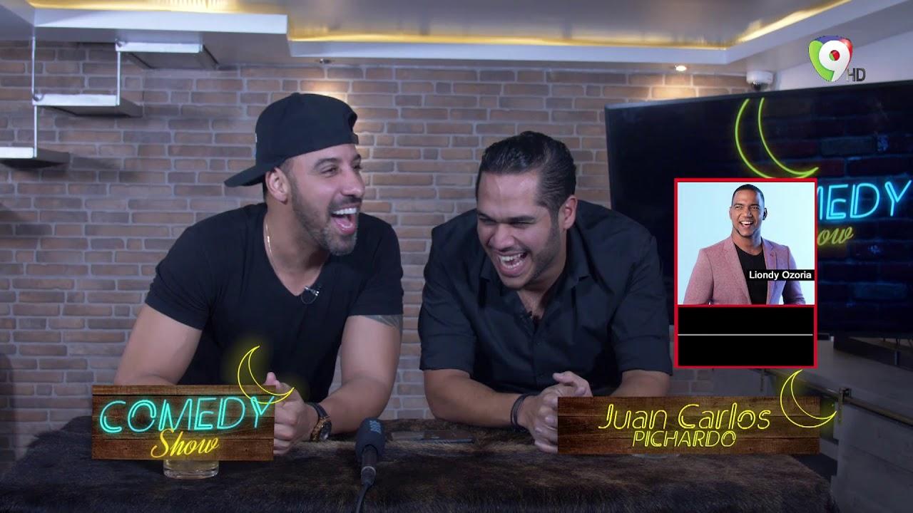 Juan Carlos Pichardo improvisa un rap en el Comedy Show – Me Gusta de Noche