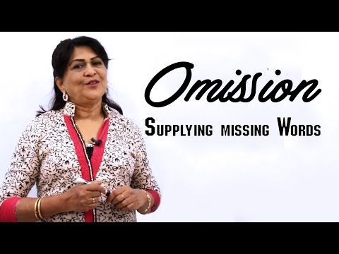 Omission | English Grammar Lessons for Beginners | English Speaking Course