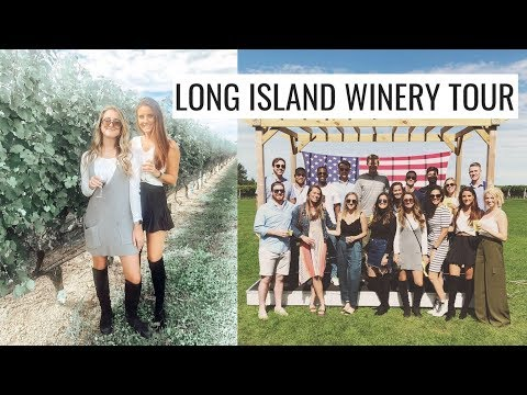 VLOG: WINE APPRECIATION DAY! The Best Wineries On Long Island | Molly J Curley
