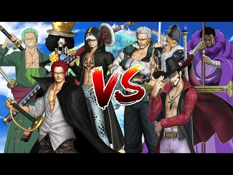Cuộc Chiến Giữa Những Tay Kiếm Mạnh Nhất Thế Giới - One Piece Song Đấu