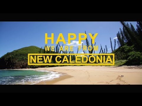 We are happy from New Caledonia Official - Pharell Williams