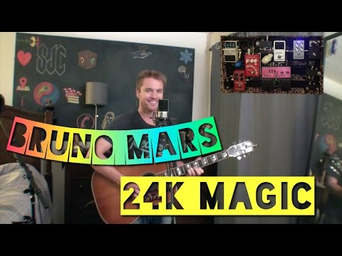Bruno Mars 24k Magic Acoustic