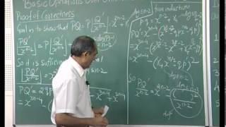 Mod-01 Lec-19 Integer-Polynomial OpsIII